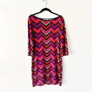 Banana Republic colorful above the knee dress Sz S